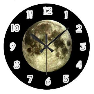 Relógio Grande Pulso de disparo da Lua cheia