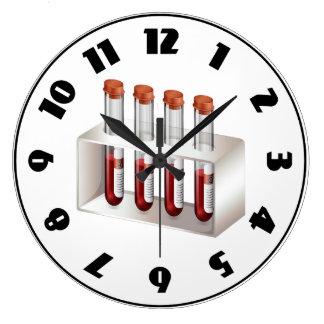 Relógio Grande Pulso de disparo das amostras de sangue