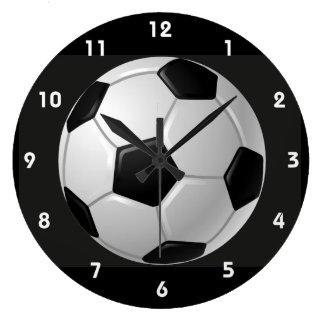 Relógio Grande Pulso de disparo de parede do design da bola de