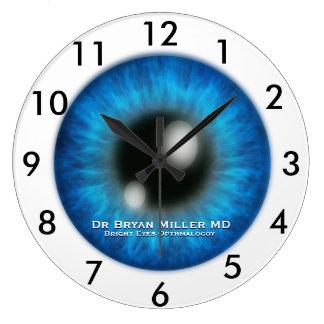 Relógio Grande Pulso de disparo do costume do oftalmologista