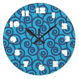 Relógio Grande Swirlies