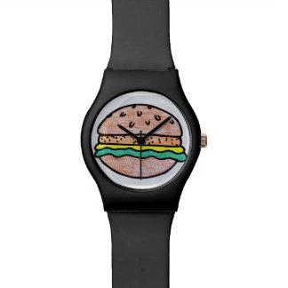 Relógio Hamburger