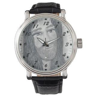 Relógio Jesus sereno