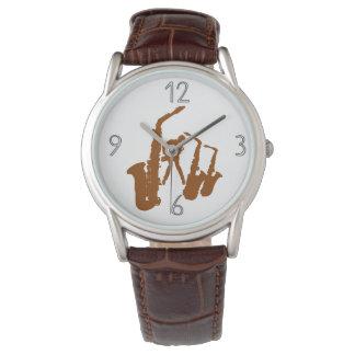 Relógio moderno 4 dos números do Jazzman do
