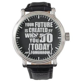 Relógio Palavras inspiradores