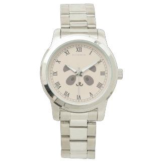 Relógio Panda Romano