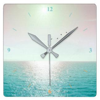 Relógio Quadrado Adeus Blighty