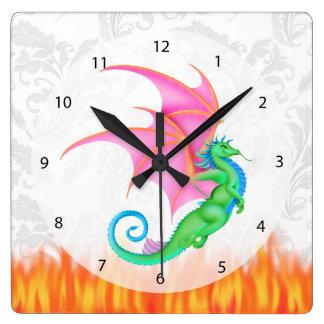 Relógio Quadrado Amigo da fantasia