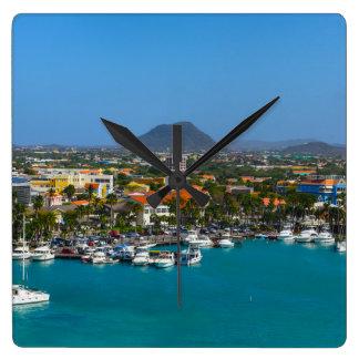 Relógio Quadrado Aruba