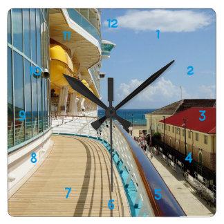 Relógio Quadrado Dockside de Falmouth Jamaica