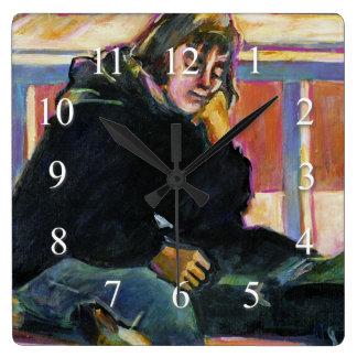 Relógio Quadrado Espera
