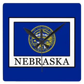 Relógio Quadrado Nebraska