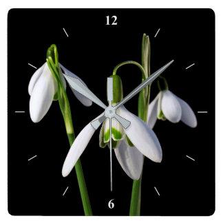 Relógio Quadrado O primavera salta eterno
