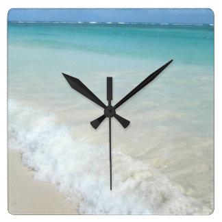 Relógio Quadrado Praia