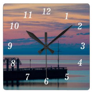 Relógio Quadrado Prazer da manhã