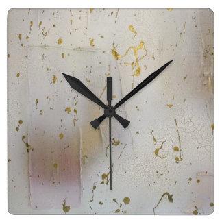 Relógio Quadrado Pulso de disparo de parede abstrato do abstrato do