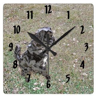 Relógio Quadrado Relógios e esperas de Smokey
