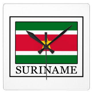 Relógio Quadrado Suriname