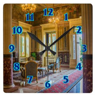 Relógio Quadrado Victorian