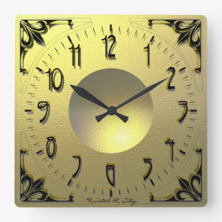 Relógio Quadrado Wien 1893
