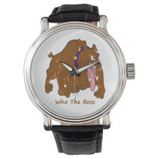 Relógio Quem o chefe