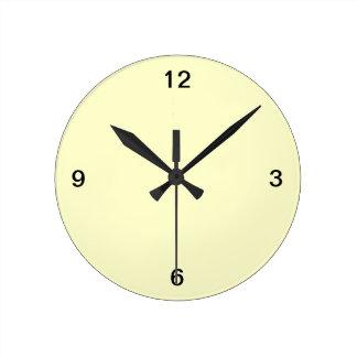 Relógio Redondo Adicione o pulso de disparo de parede da imagem,