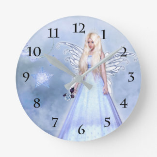 Relógio Redondo Anjo da simpatia