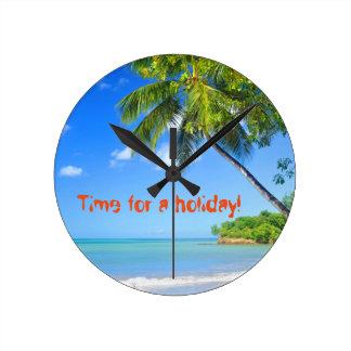 Relógio Redondo Barbados