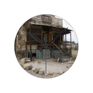 Relógio Redondo Construção mercantil do Rhyolite