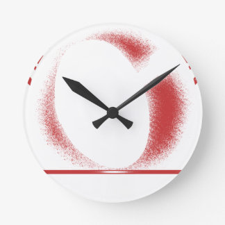 Relógio Redondo espere o x
