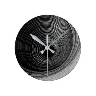 Relógio Redondo Fotografia contemporânea da arte abstracta