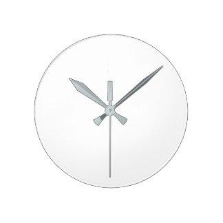 Relógio Redondo (Grande) pulso de disparo de parede redondo - mãos