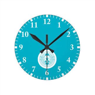 Relógio Redondo Guindastes de Nanbu