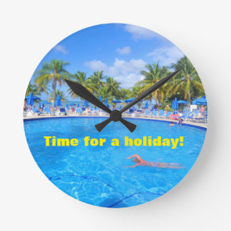 Relógio Redondo Ilhas das Caraíbas