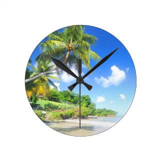 Relógio Redondo Praia bonita