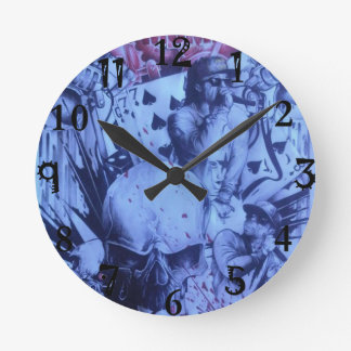 Relógio Redondo Produto artístico urbano do hip-hop surpreendente
