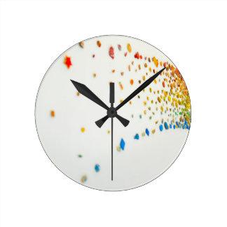 Relógio Redondo Projeta horas