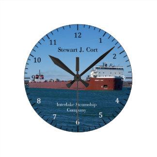 Relógio Redondo Pulso de disparo de Stewart J. Cort