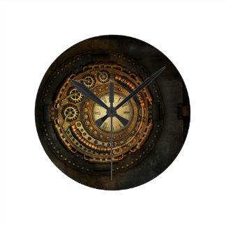 Relógio Redondo Pulso de disparo do estilo do vintage do PUNK | do
