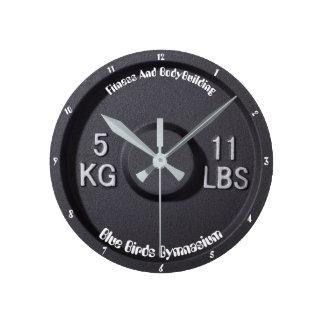 Relógio Redondo Pulso de disparo do ginásio da malhação e do