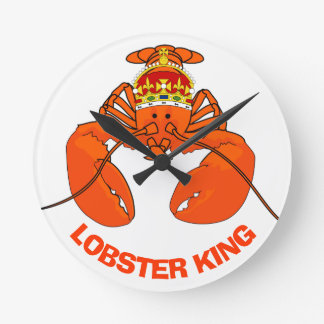 Relógio Redondo Rei da lagosta