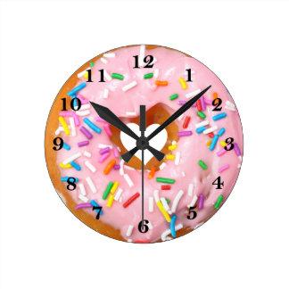 Relógio Redondo Rosquinha