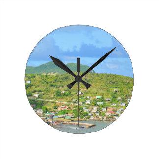 Relógio Redondo Santo Lucia