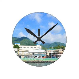 Relógio Redondo Santo Lucia de Soufriere