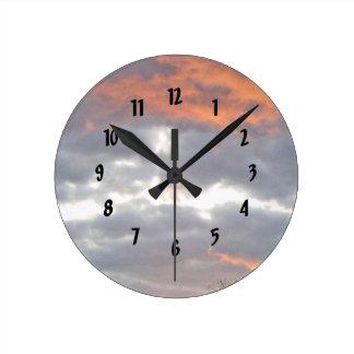 Relógio Redondo Um nascer do sol em Kentucky