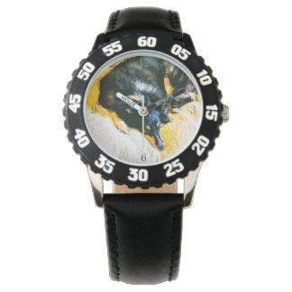Relógio Sonho do Sheepdog de Shetland