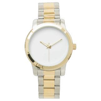 Relógio unisex desproporcionado do bracelete do