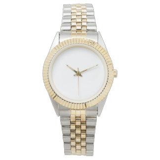 Relógio unisex do bracelete do Dois-Tom