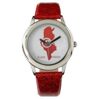 relógio vermelho para miúdos