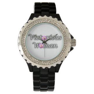 Relógio vitorioso da mulher
